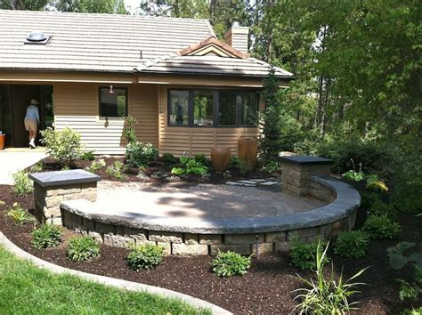 front patio design best 25 front yard patio ideas on
