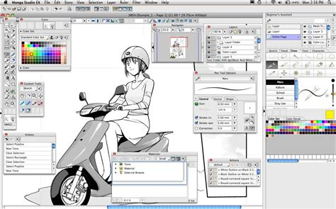 comic studio studio ex 4 software