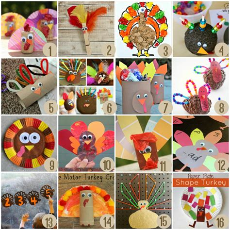 easy thanksgiving crafts 28 easy turkey crafts for 20 of the best