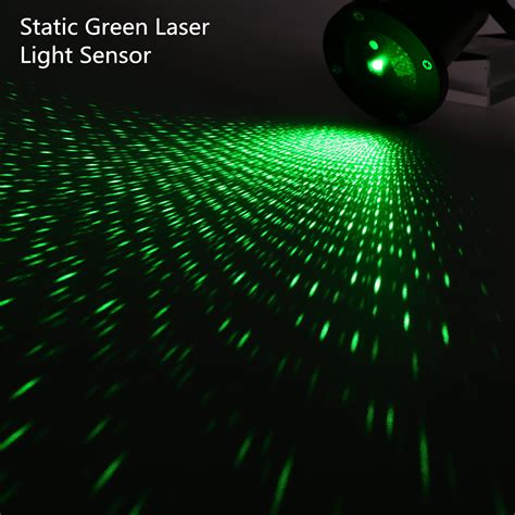 laser light projector for outdoor green static starry laser projector laser lawn