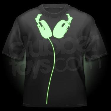 glow in the paint shirt glow in the headphones t shirt