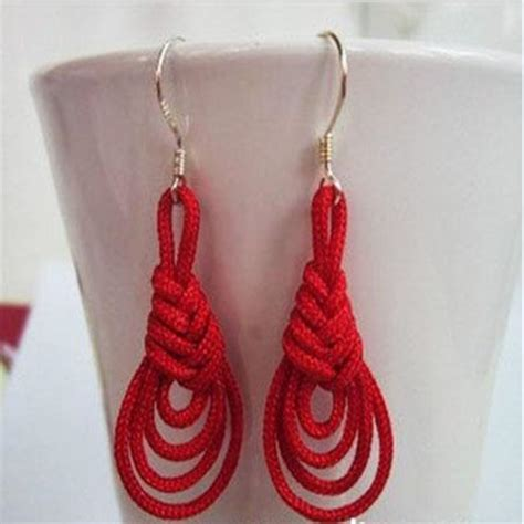craft cord projects you to see how to make handmade earrings knot earri