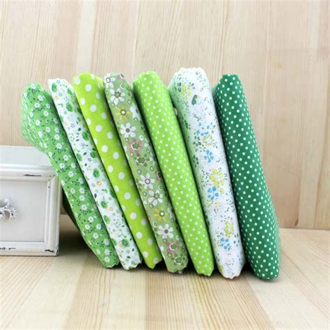 sewing cotton knit fabric green dot apparel sewing textile tissue to patchwork print
