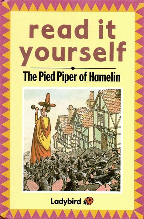 picture books about being yourself pied piper of hamelin ladybird book read it yourself