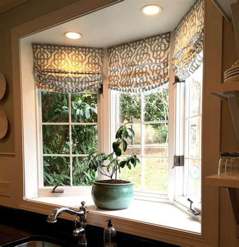 curtains for kitchen bay windows best 25 bay window decor ideas on