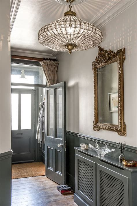 entrance chandelier 25 best ideas about wainscoting hallway on