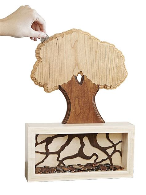 woodworking gift plans quot money tree quot coin bank woodworking plan who says money