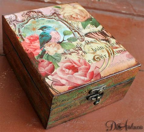 decoupage gifts 25 best ideas about decoupage box on farewell