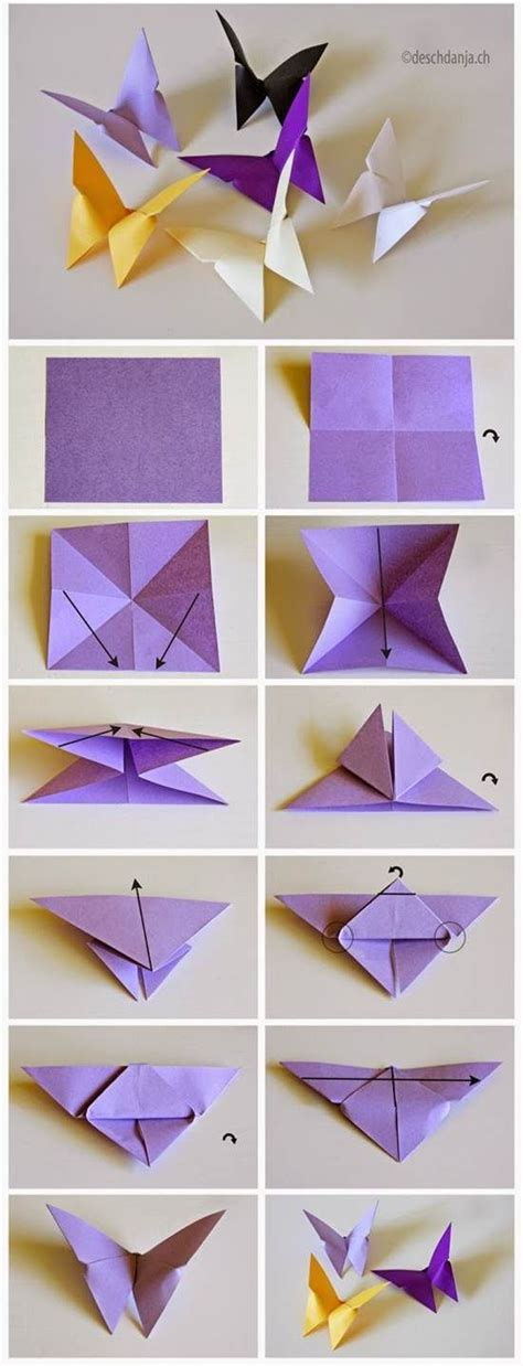 origami simple butterfly best 25 origami butterfly ideas on diy