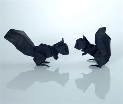 3d origami squirrel 40 delightful origami designs naldz graphics