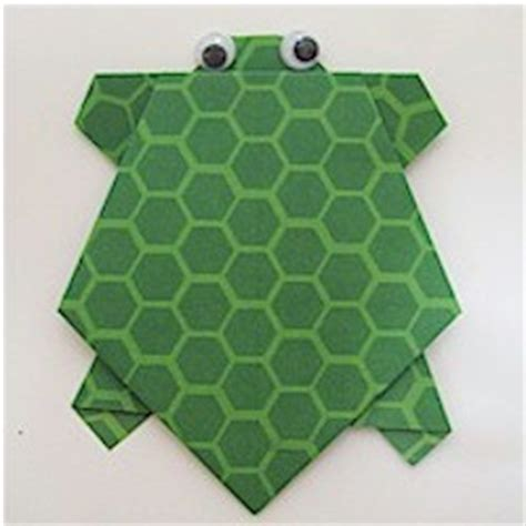 easy turtle origami origami turtle family crafts
