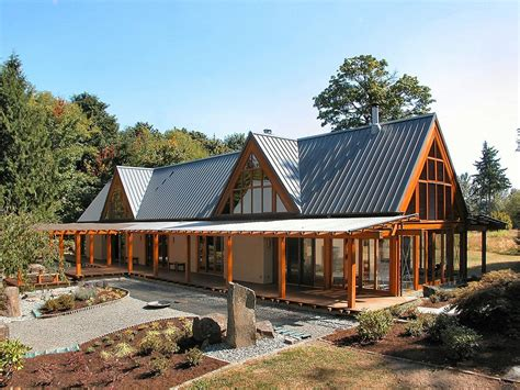 The Concrete Cottage Sneak Peek by Cabin Chic Mountain Home Of Glass And Wood Modern House