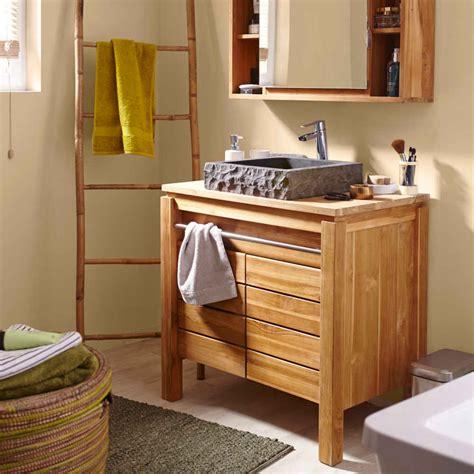 meuble salle de bain bois pas cher peinture faience salle de bain