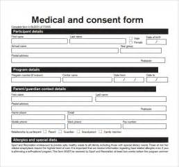 sample medical consent form 13 free documents in pdf