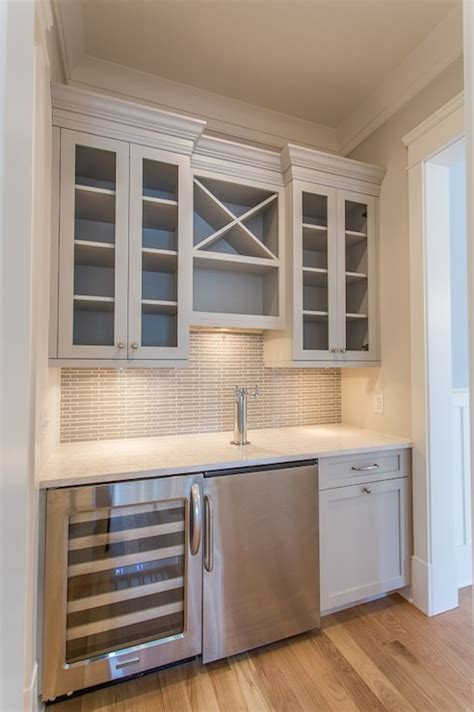 built in bar cabinets for home gray bar transitional kitchen benjamin