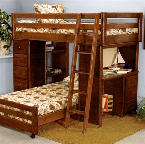 wood frame bunk beds solid wood frame l shape bunk beds with stairs home