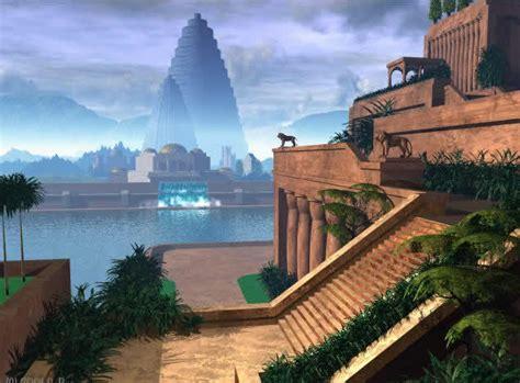Garden Of Iraq Hanging Gardens Of Babylon Wonders Of Iraq