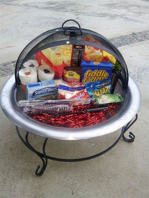raffle gift ideas we got the pit now we need the goodies of