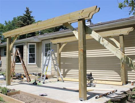 pergola blueprints free plans to build free standing pergola plans diy pdf