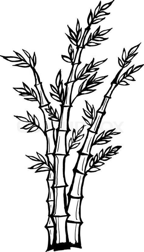 Bird Tree Wall Sticker cartoon bamboo tree drawing stock vector of hand drawn