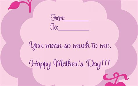 mothers day card s day card wallpaper high definition high