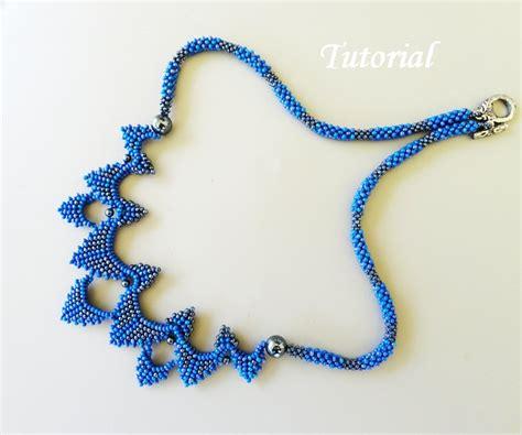 bead jewelry patterns pdf for bearwoven necklace beading pattern beadbeawing