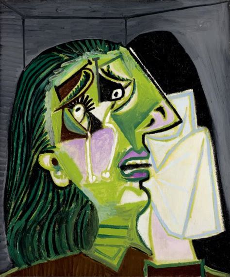 picasso paintings the weeping picasso quotes quotes by pablo picasso therapy