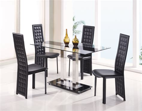 glass top dining room table sets fascinating dining room sets for sale modern glass top