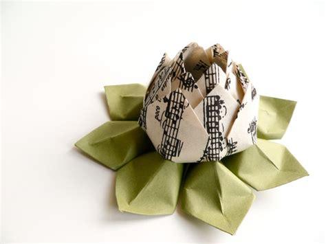 origami for teachers gift musical notes origami lotus flower handmade