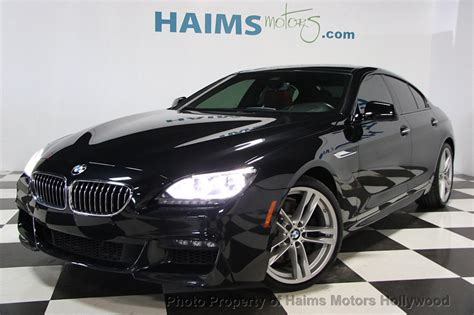 Bmw 640i Coupe by 2015 Used Bmw 6 Series 640i Gran Coupe At Haims Motors