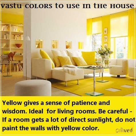vastu paint colors for living room vastu colors to use in the house yellow it gives a sense