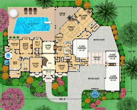 Five Bedroom House Plans featured house plan pbh 4525 professional builder