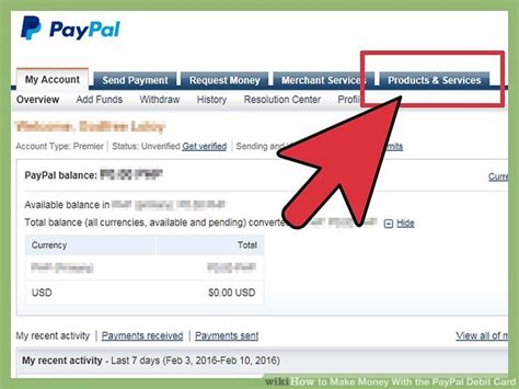 how to make bank card how to make money with the paypal debit card 14 steps