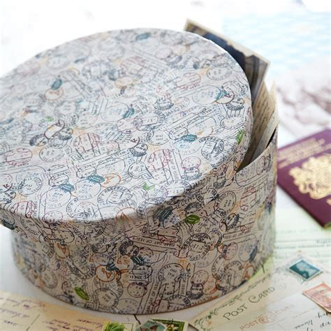 simple decoupage d 233 coupage hat box a simple project for beginners