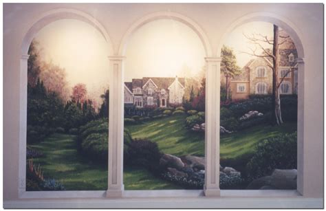 murals on wall murals custom painted wall murals by effects