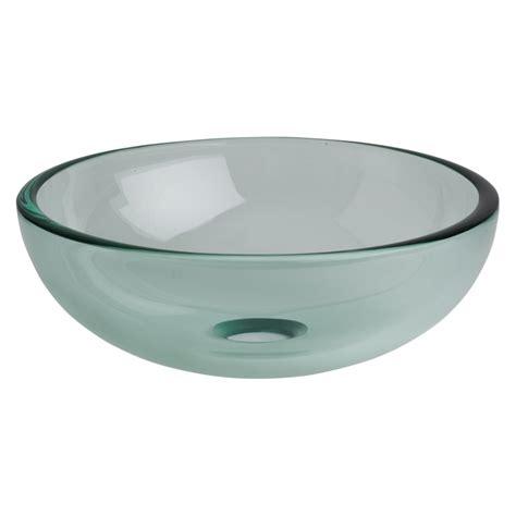 vasque salle de bain ronde vasques en verre transparent pas cher