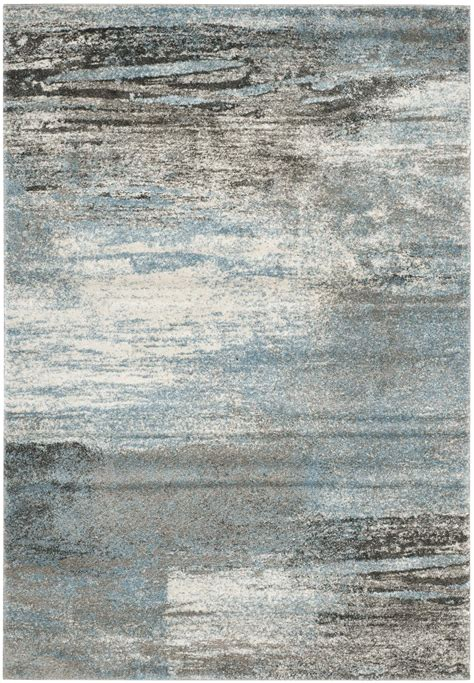 area rugs gray safavieh tahoe tah479d grey and light blue area rug free
