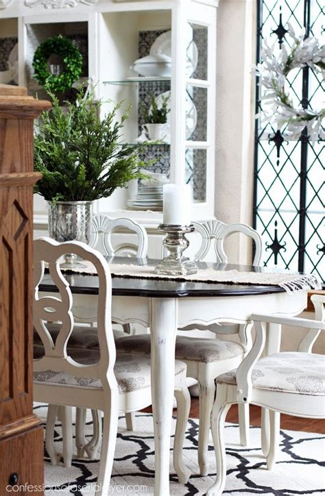 chalk paint ideas for dining table dining room table makeover hometalk