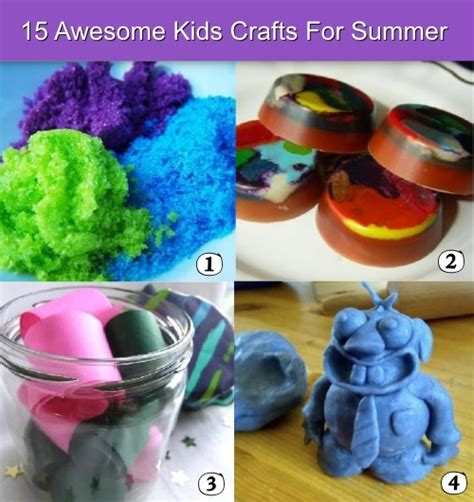 kid crafts for summer 38 amazing ideas to make summer for and families