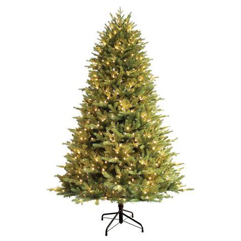 ge artificial tree ge 7 5 ft just cut balsam fir ez light artificial