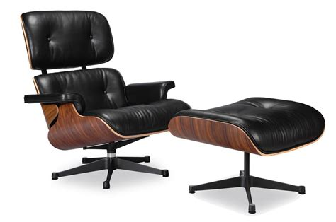 Eams Chair by Eames Lounge Chair Vitra Black Manhattan Home Design