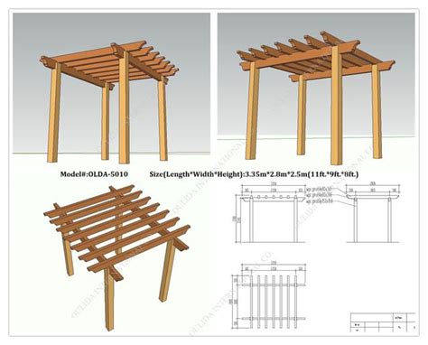 pergola blueprints free woodworking pergola plans for free diy pdf