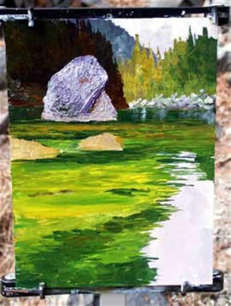 acrylic painting tutorials acrylic landscape painting tutorial by donald neff