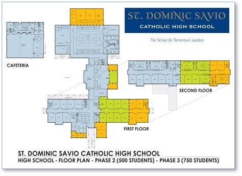 Floor And Decor Austin floor plan for st dominic savio high school a new
