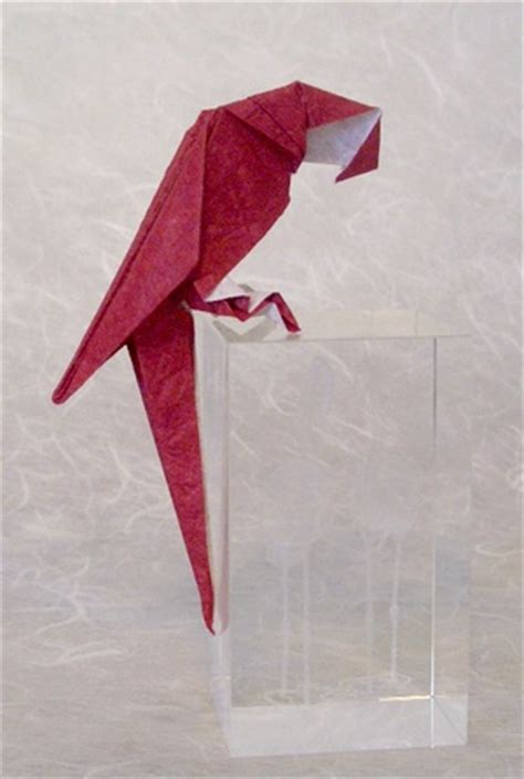 origami parrot origami parrots gilad s origami page