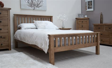 solid oak bedroom furniture uk rustic solid oak 4 6 quot bed oak furniture uk
