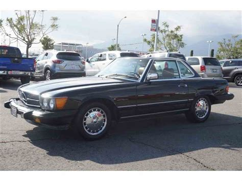 Mercedes Classic Cars by 1987 Mercedes 560sl For Sale Classiccars Cc