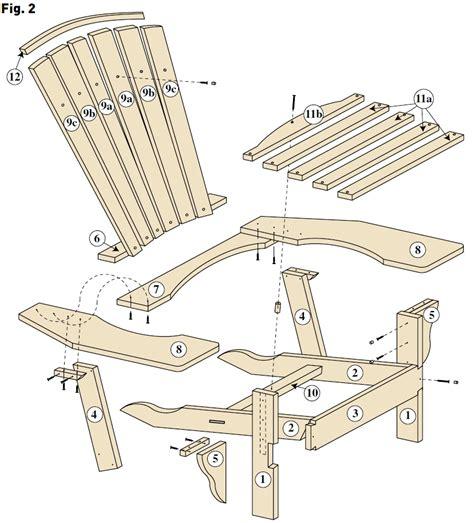 un fauteuil adirondack bois le bouvet