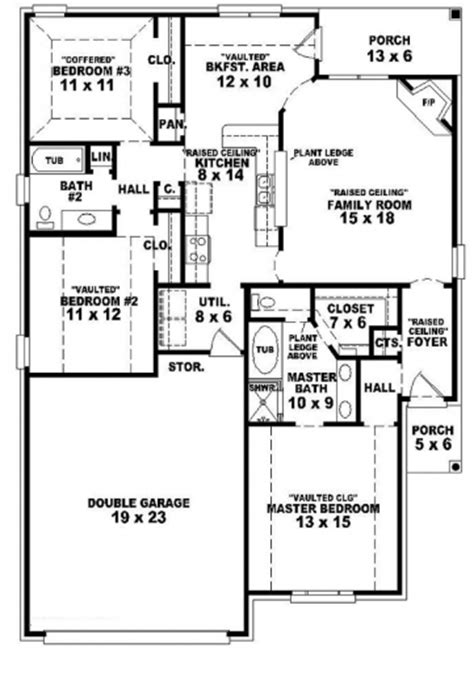 home floor plans 1 story 3 bedroom house plans 1 story arts single story