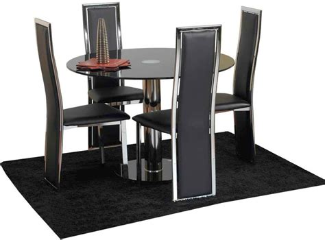 leather dining table chairs modern looking leather made dining table chairs designs